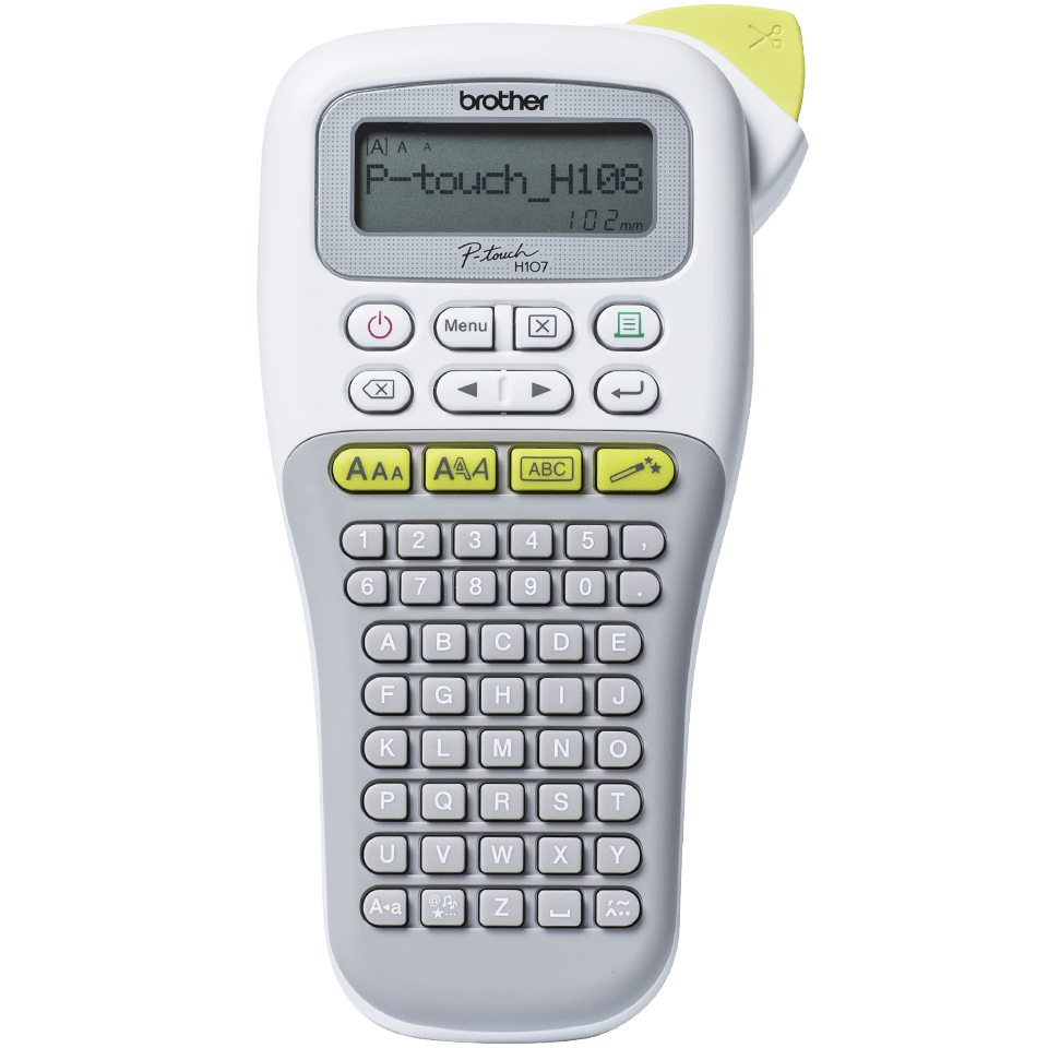 PT-H108 P-touch étiqueteuse à ruban 7