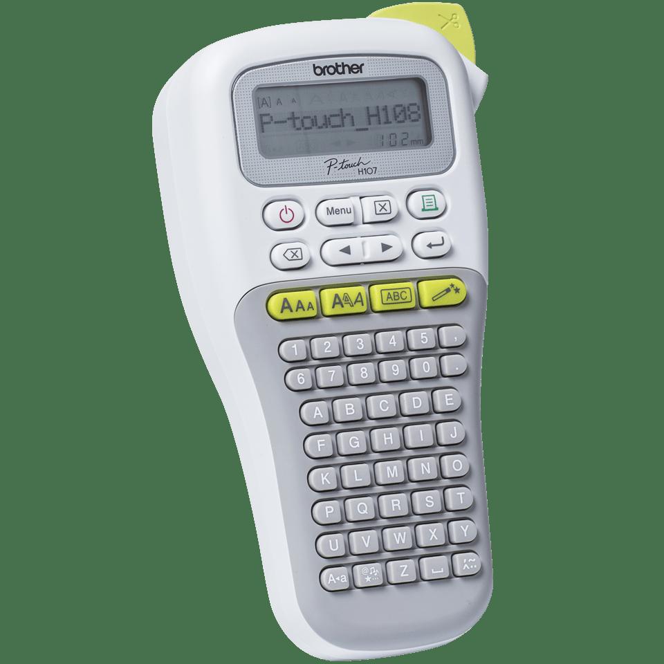 P-touch PT-H108G draagbare labelprinter voor thuis en het kantoor 2
