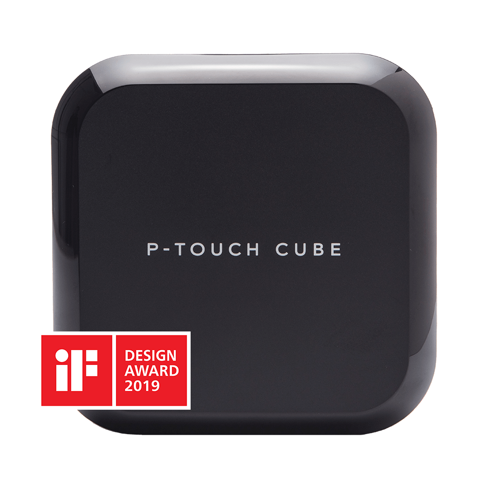 P-touch CUBE Plus (PT-P710BT) Bluetooth tape labelprinter 3