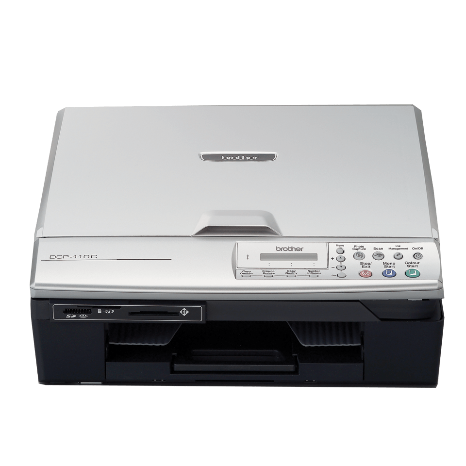 DCP-110C 3-in-1 inkjet printer