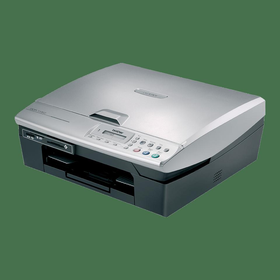 DCP-115C all-in-one inkjetprinter 2