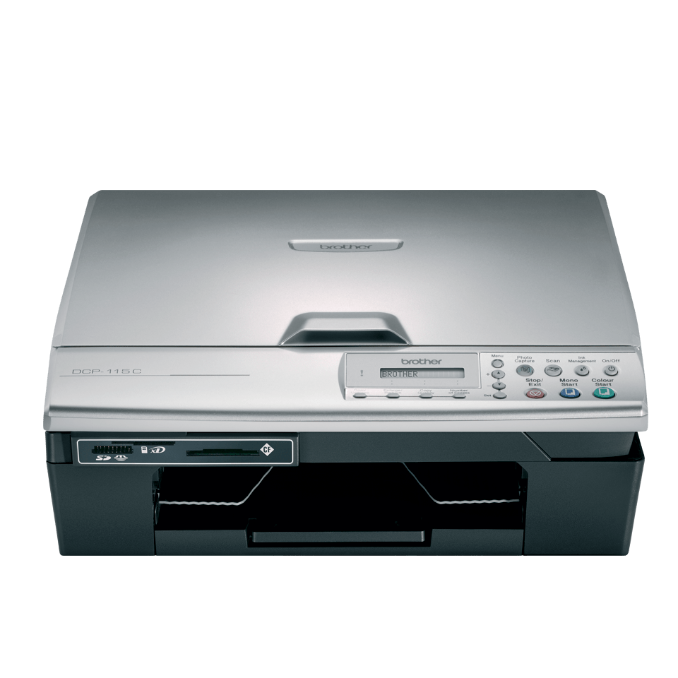 DCP-115C 3-in-1 inkjet printer