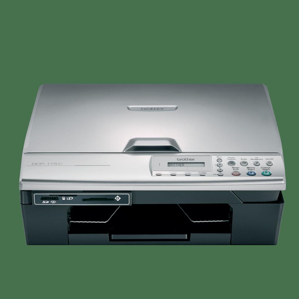 DCP-115C all-in-one inkjetprinter