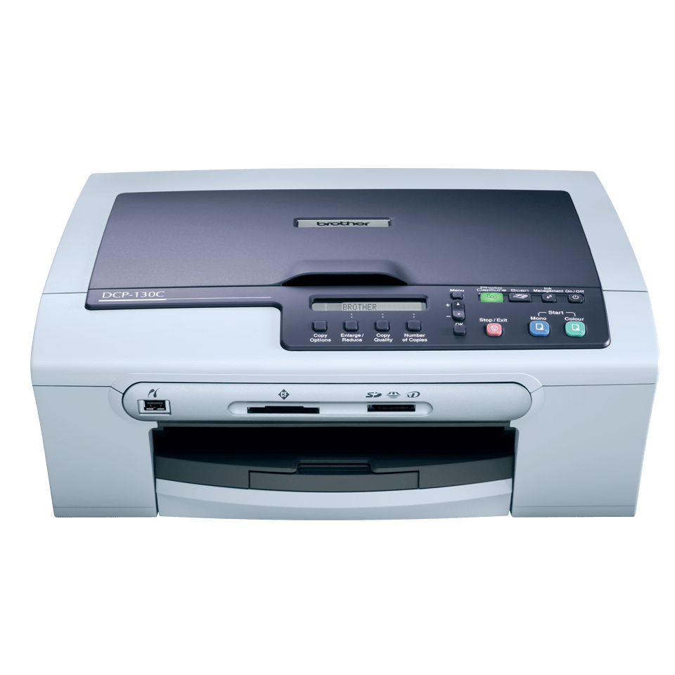 DCP-130C all-in-one inkjet printer