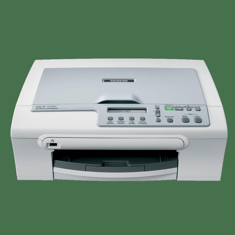 DCP-135C 3-in-1 inkjet printer