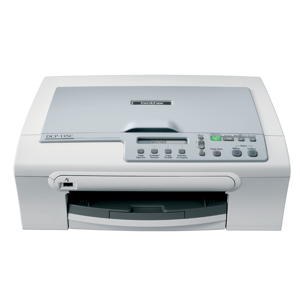 DCP-135C all-in-one inkjet printer