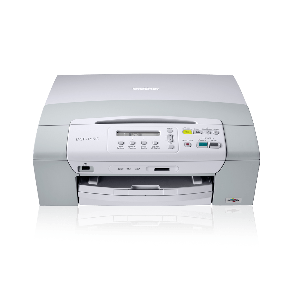 DCP-165C 3-in-1 inkjet printer