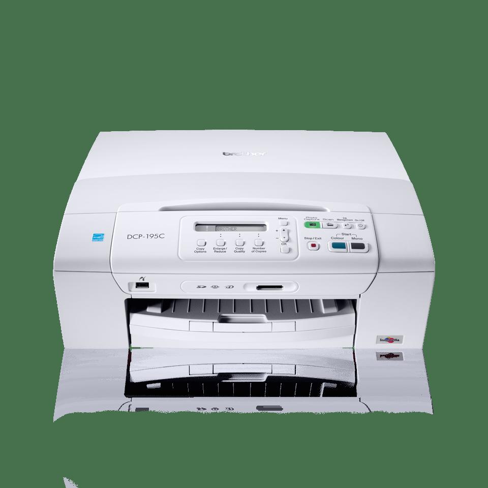 DCP-195C all-in-one inkjetprinter 2