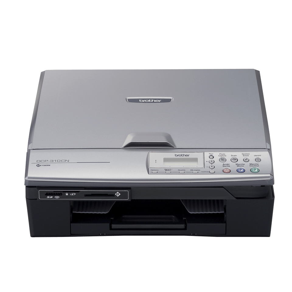 DCP-310CN all-in-one inkjet printer