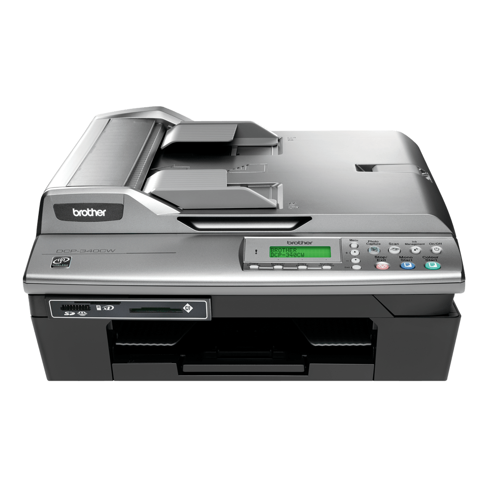 DCP-340CW all-in-one inkjetprinter