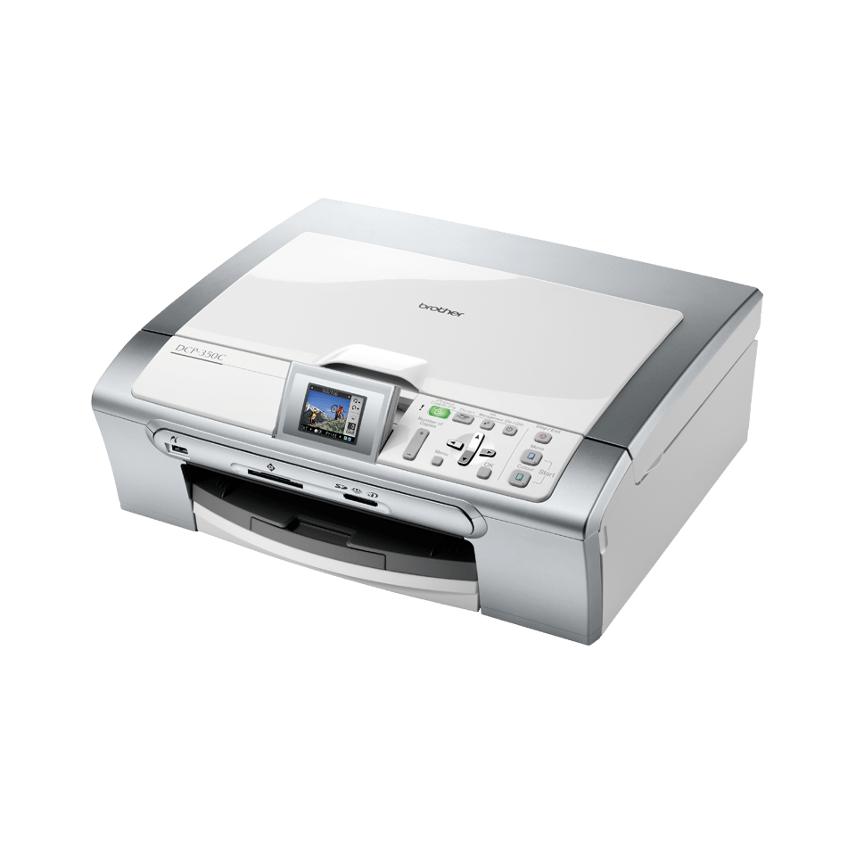 DCP-350C all-in-one inkjetprinter
