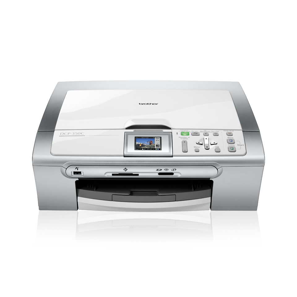 DCP-350C all-in-one inkjet printer 2