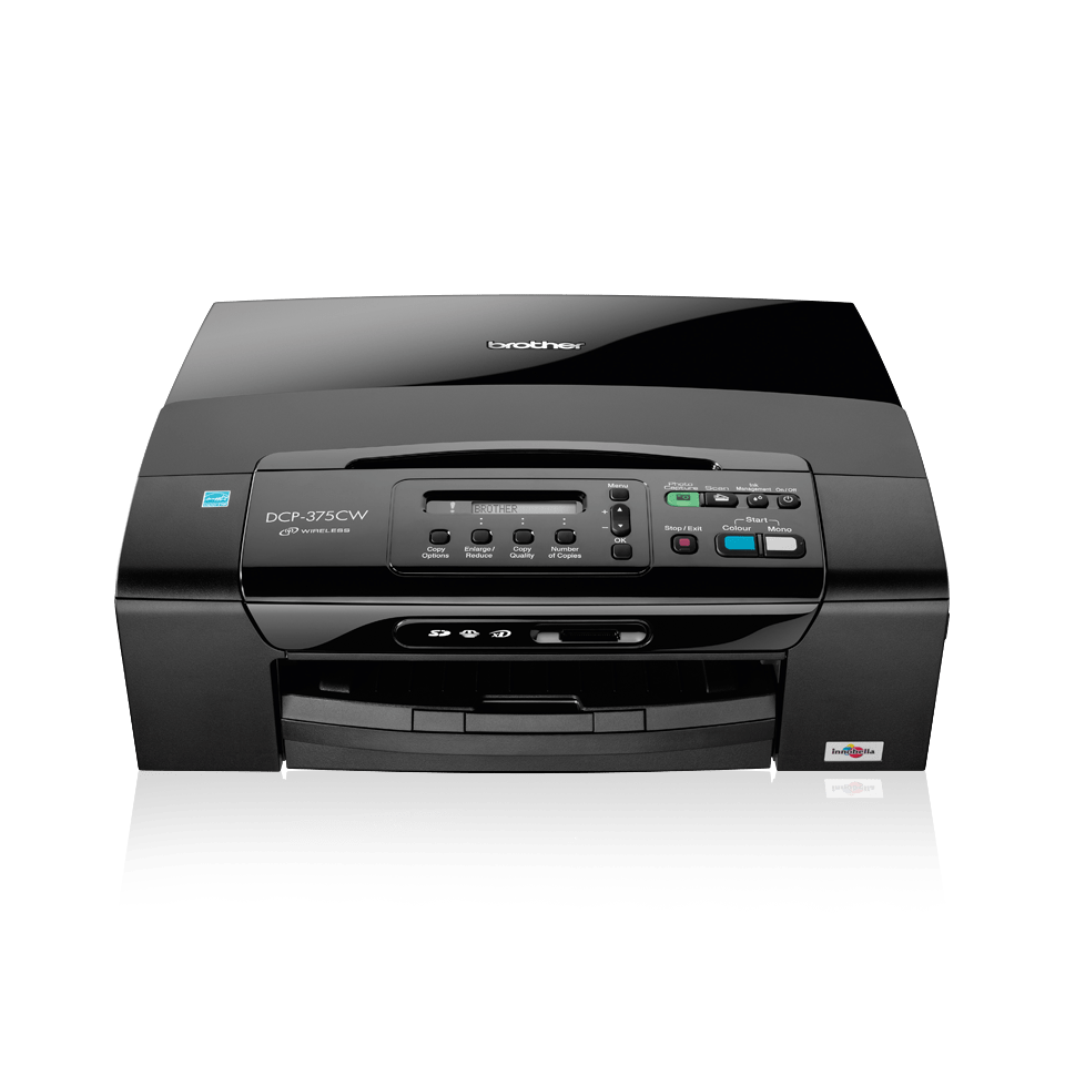DCP-375CW all-in-one inkjet printer 2