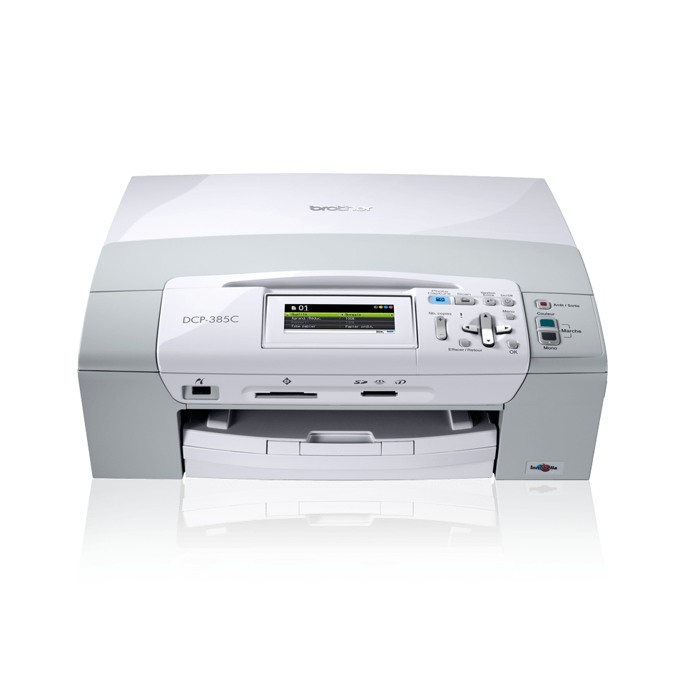 DCP-385C 3-in-1 inkjet printer