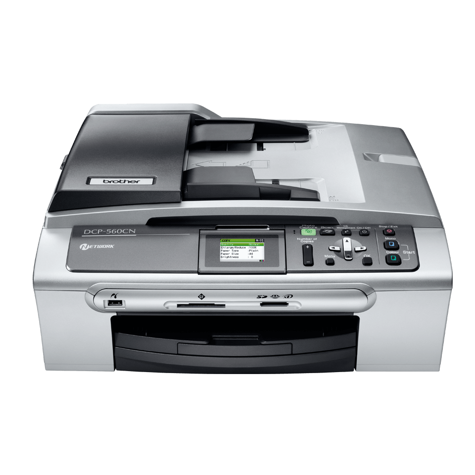 DCP-560CN all-in-one inkjet printer