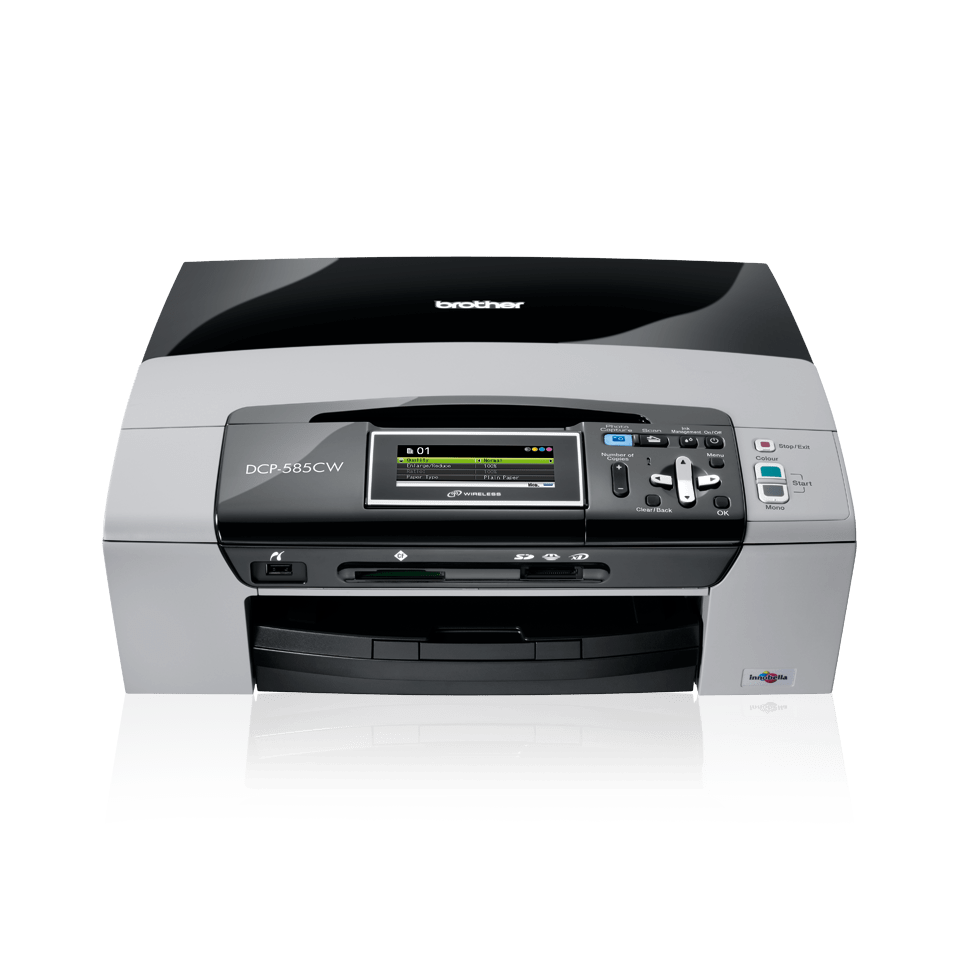 DCP-585CW all-in-one inkjetprinter 2
