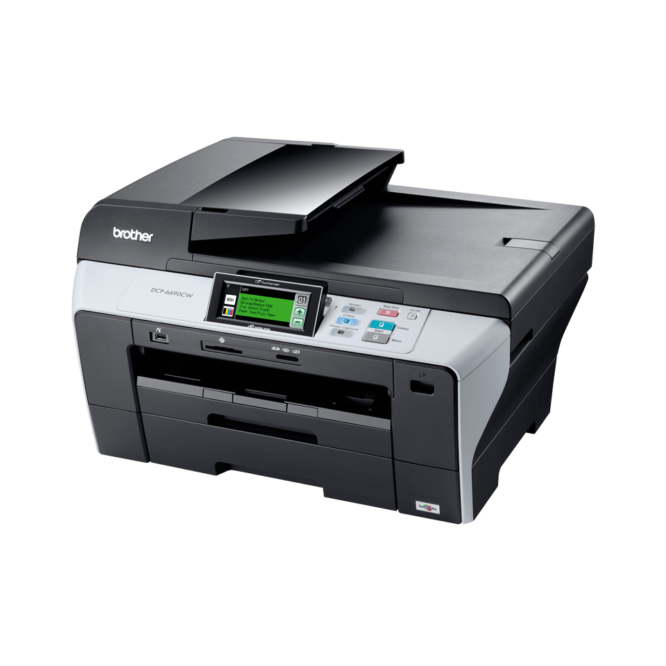 DCP-6690CW all-in-one inkjet printer