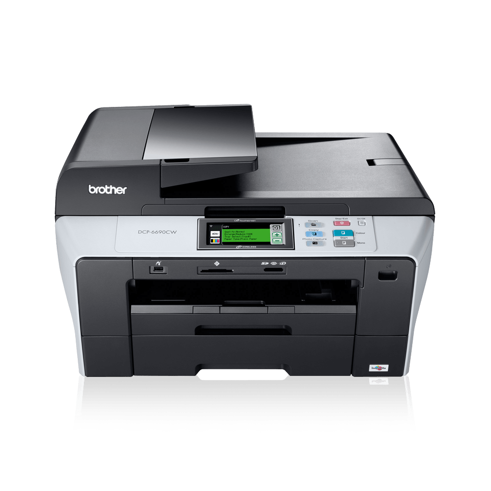 DCP-6690CW all-in-one inkjet printer 2