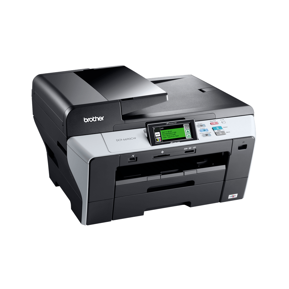 DCP-6690CW all-in-one inkjet printer 3