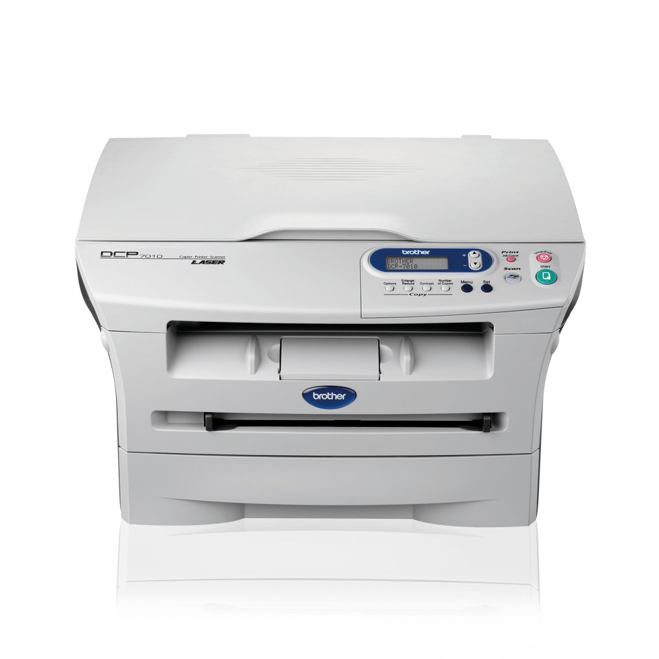 DCP-7010 all-in-one mono laser printer 2