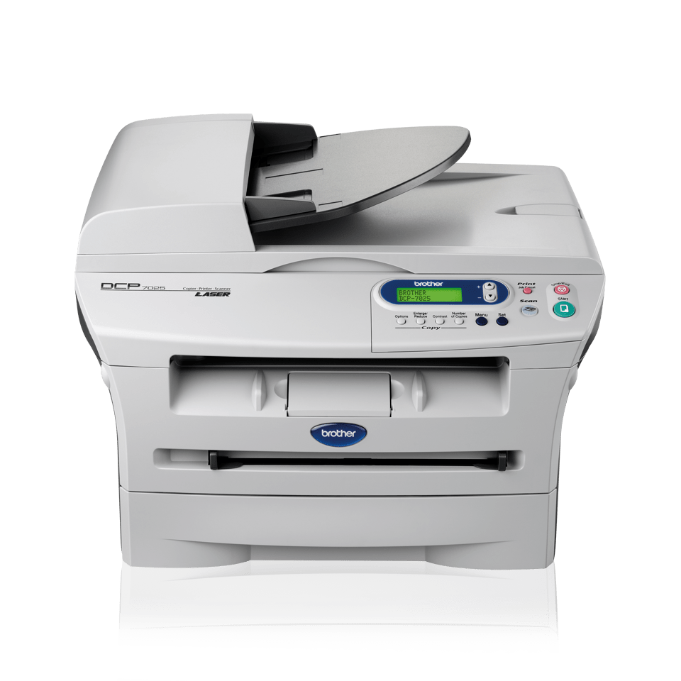 DCP-7025 all-in-one mono laser printer 2