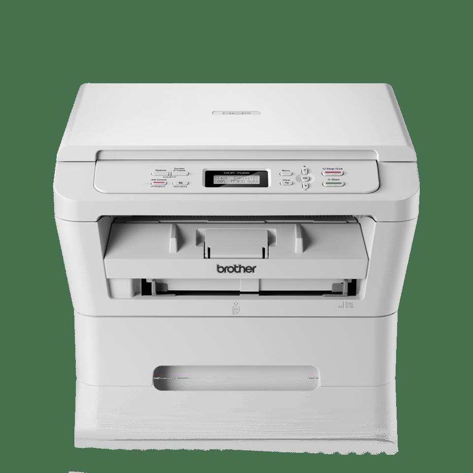 DCP-7055 3-in-1 mono laser printer