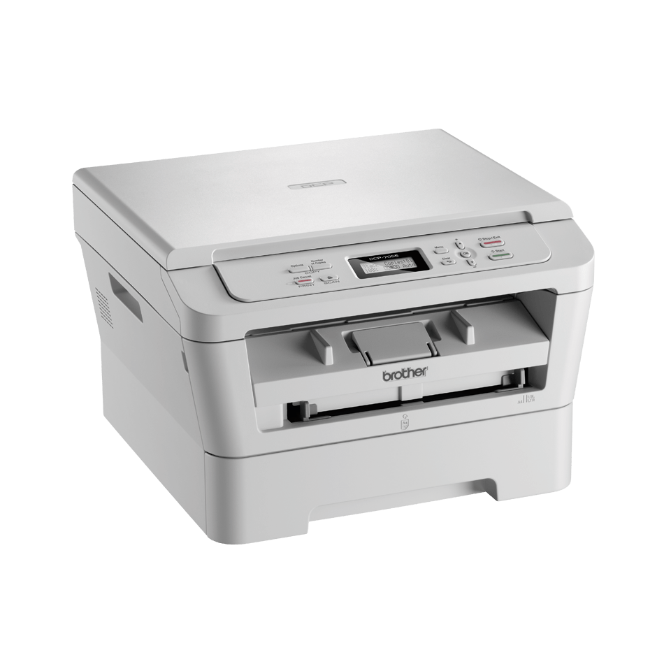 DCP-7055 all-in-one mono laser printer 3