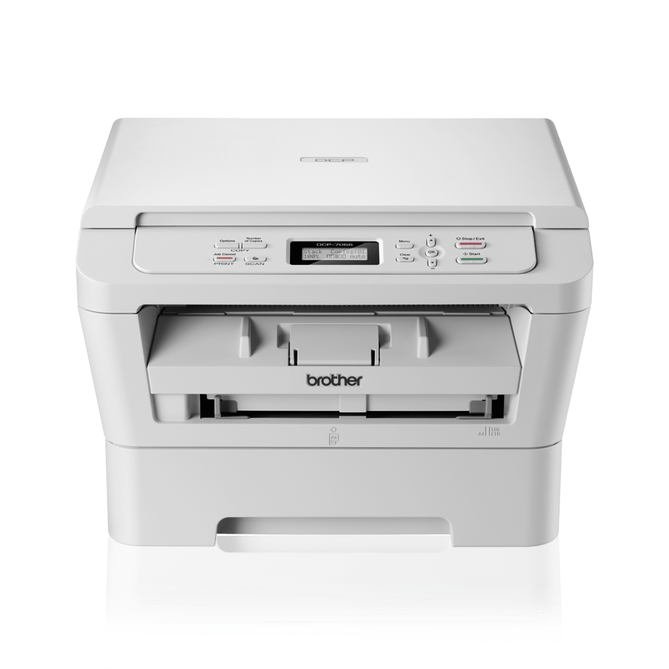 DCP-7055W all-in-one mono laser printer