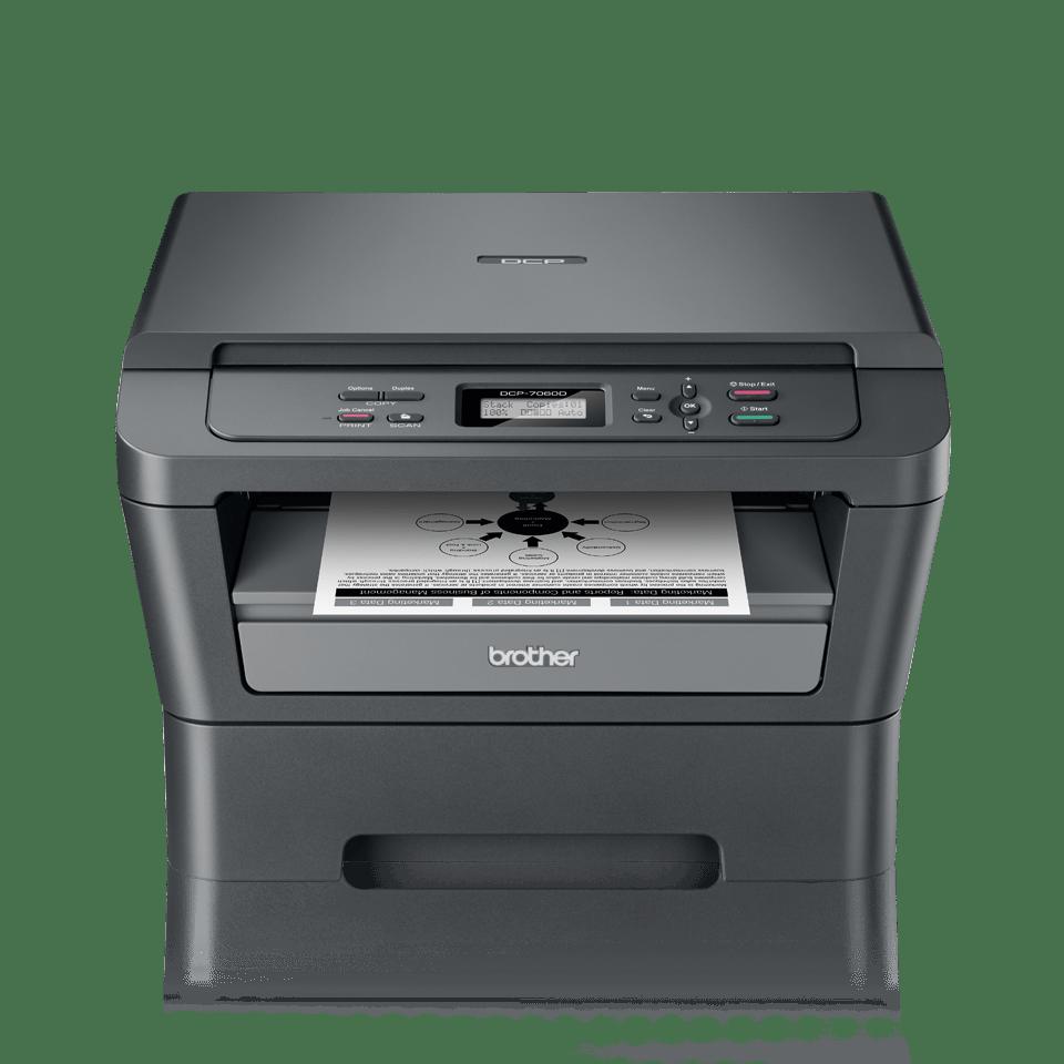 DCP-7060D 3-in-1 mono laser printer