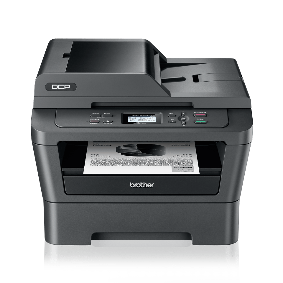 DCP-7065DN 3-in-1 mono laser printer