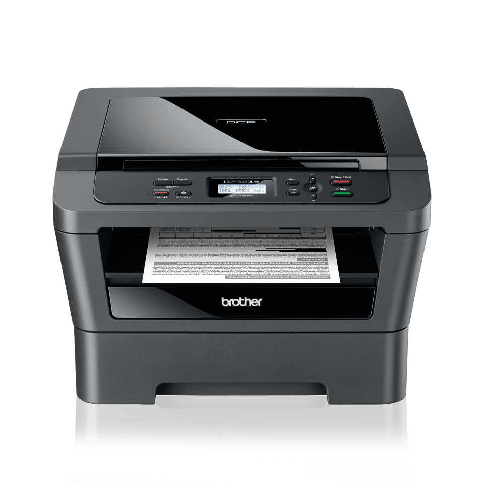 DCP-7070DW 3-in-1 mono laser printer