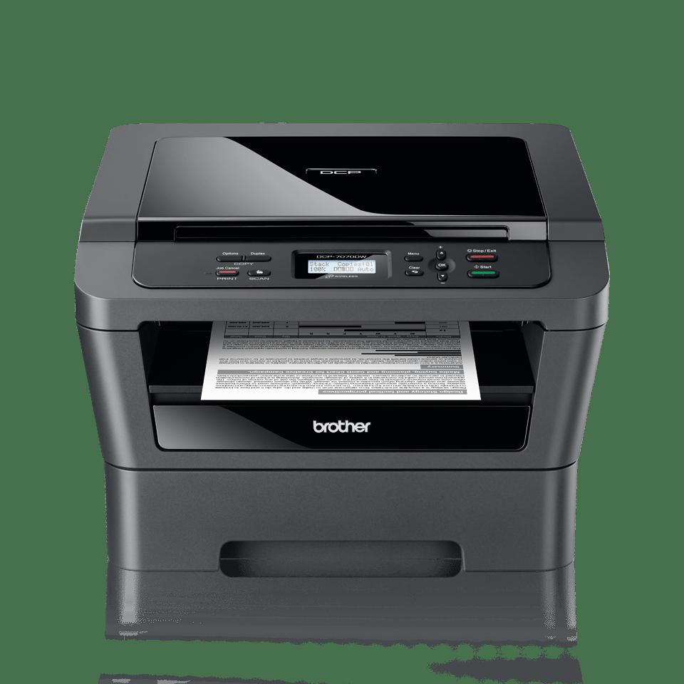 DCP-7070DW imprimante 3-en-1 laser monochrome 2