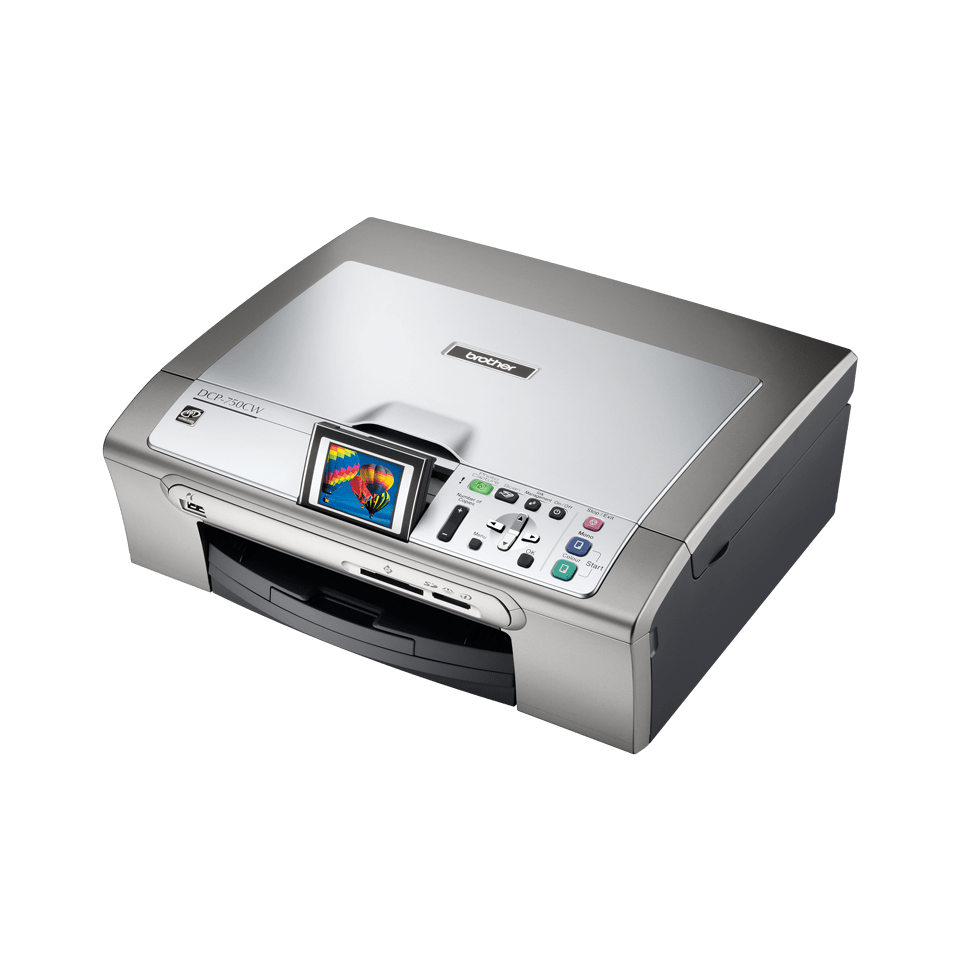 DCP-750W all-in-one inkjetprinter