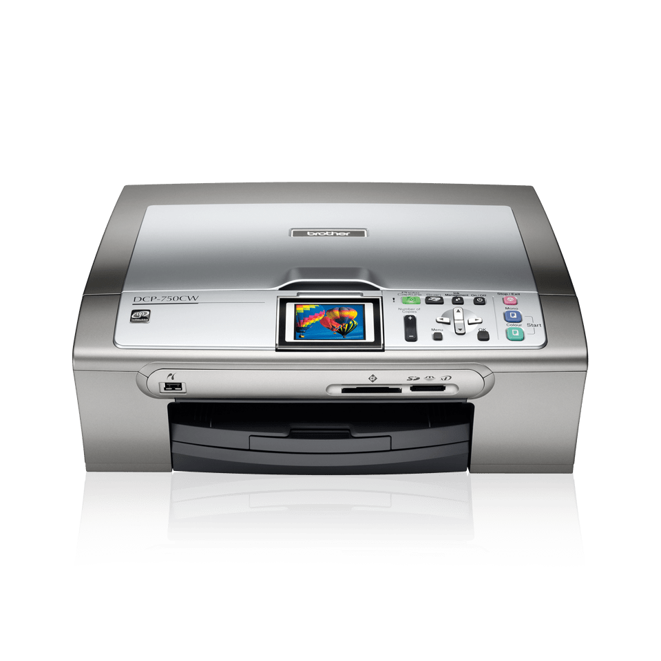 DCP-750W all-in-one inkjetprinter 2