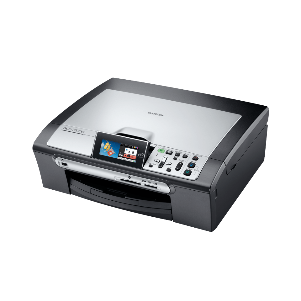 DCP-770CW all-in-one inkjet printer