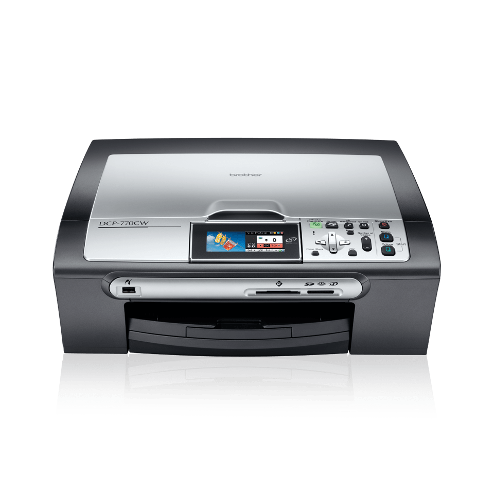DCP-770CW all-in-one inkjet printer 2