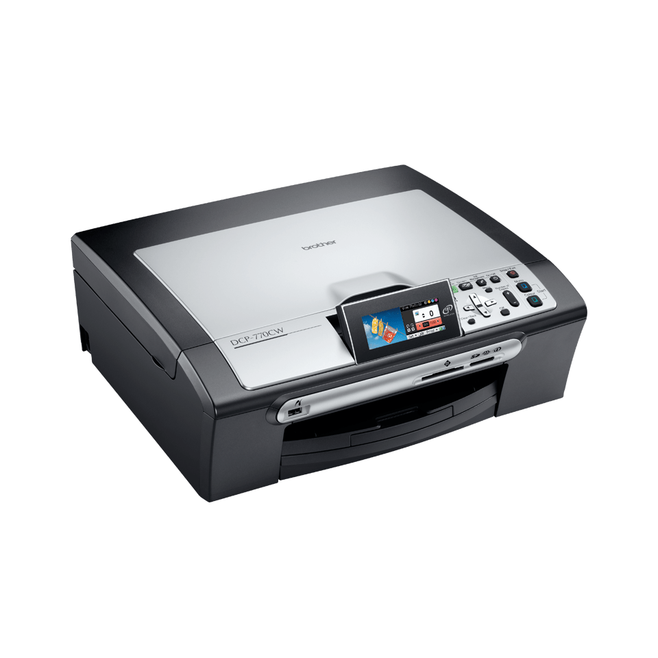 DCP-770CW all-in-one inkjet printer 3