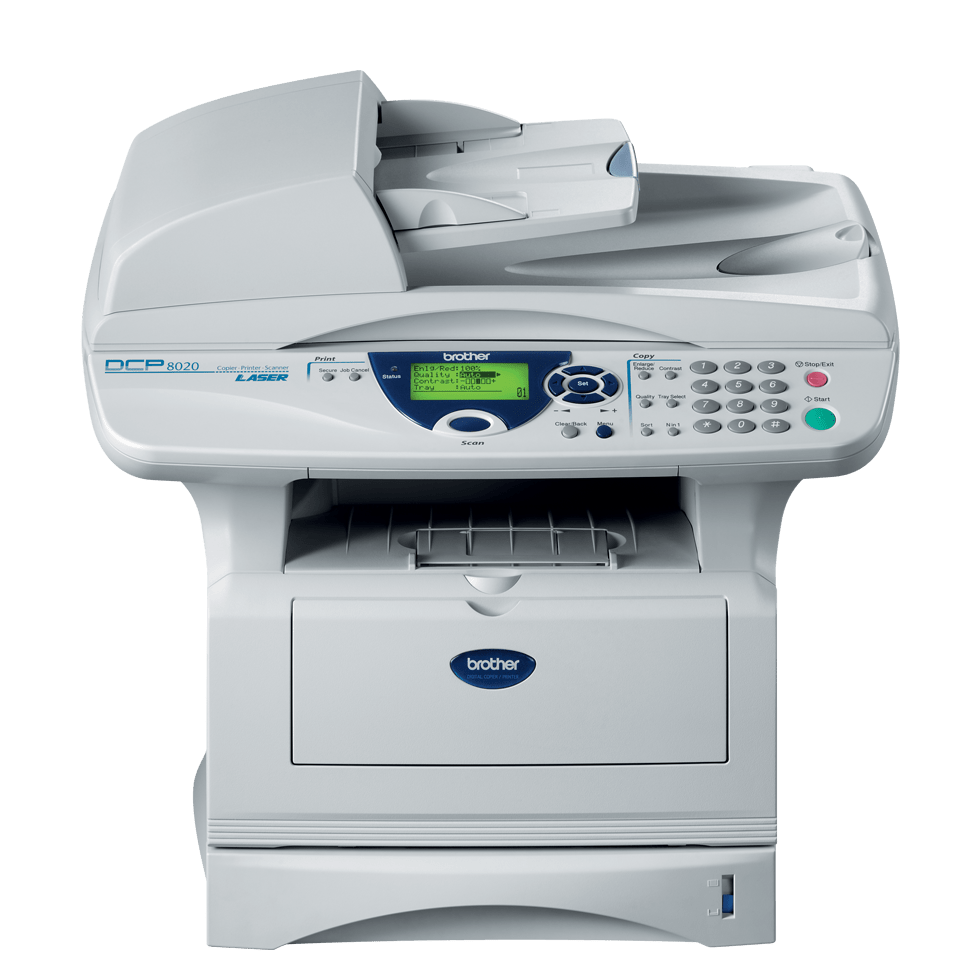 DCP-8020 all-in-one mono laser printer