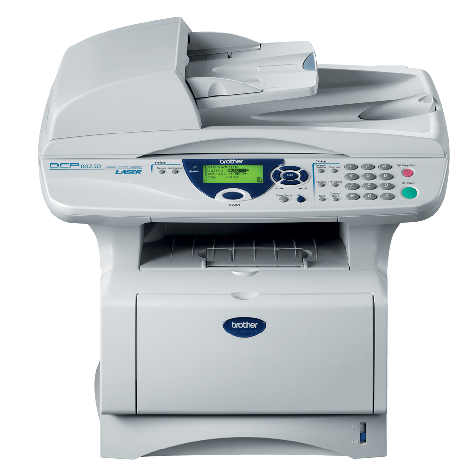 DCP-8025D all-in-one mono laser printer