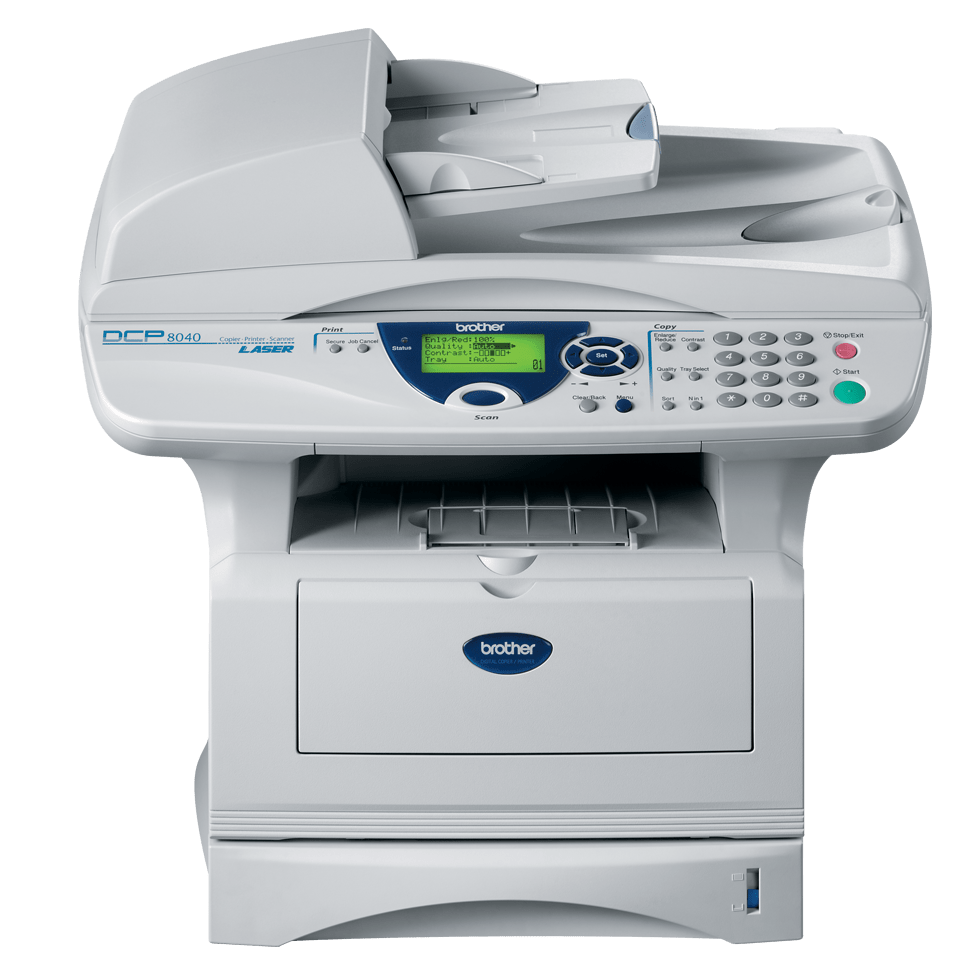 DCP-8040 all-in-one mono laser printer