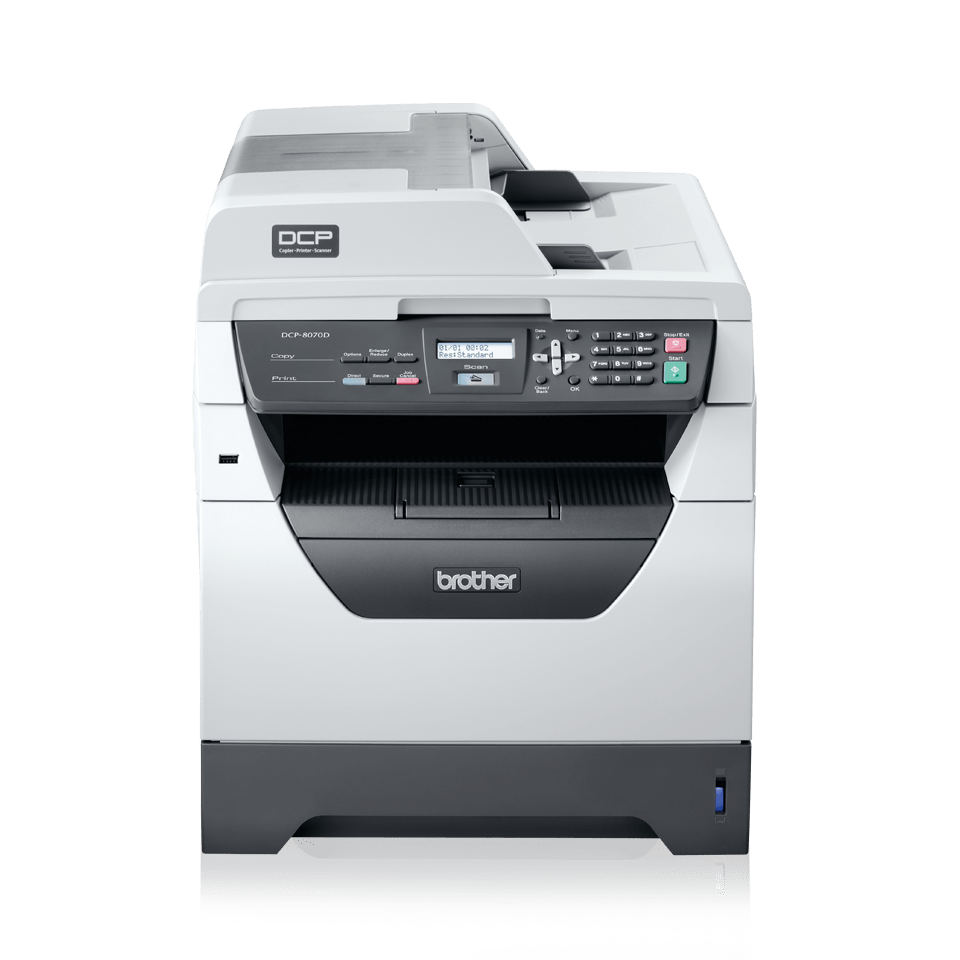 DCP-8070D all-in-one mono laser printer 2