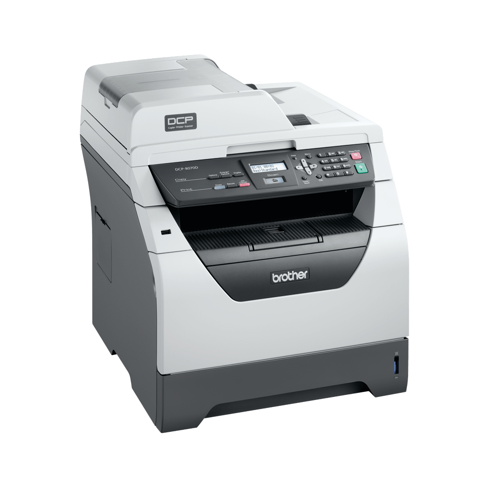 DCP-8070D all-in-one mono laser printer 3