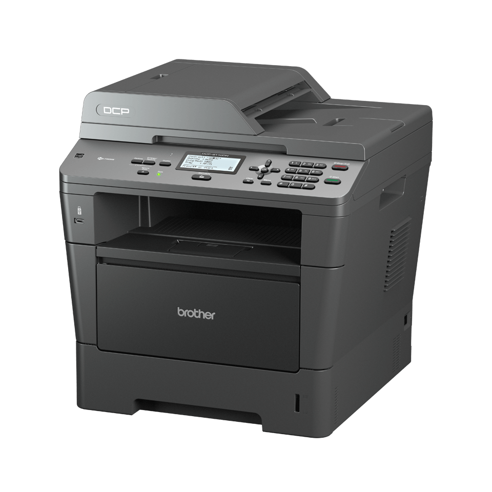 DCP-8110DN all-in-one mono laser printer