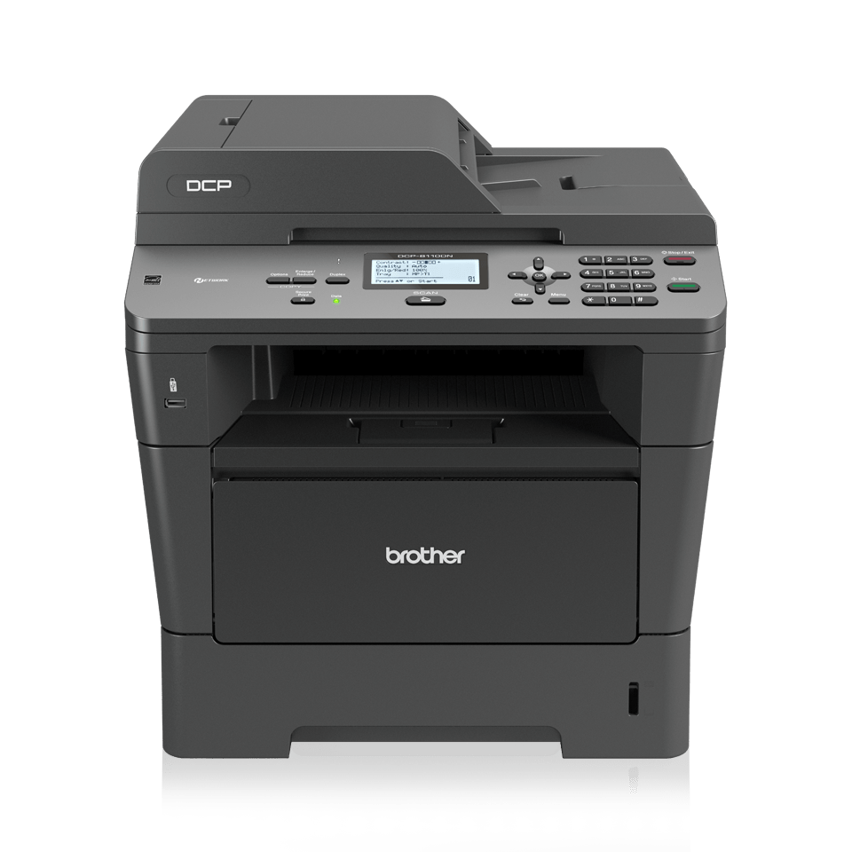 DCP-8110DN all-in-one mono laser printer 2