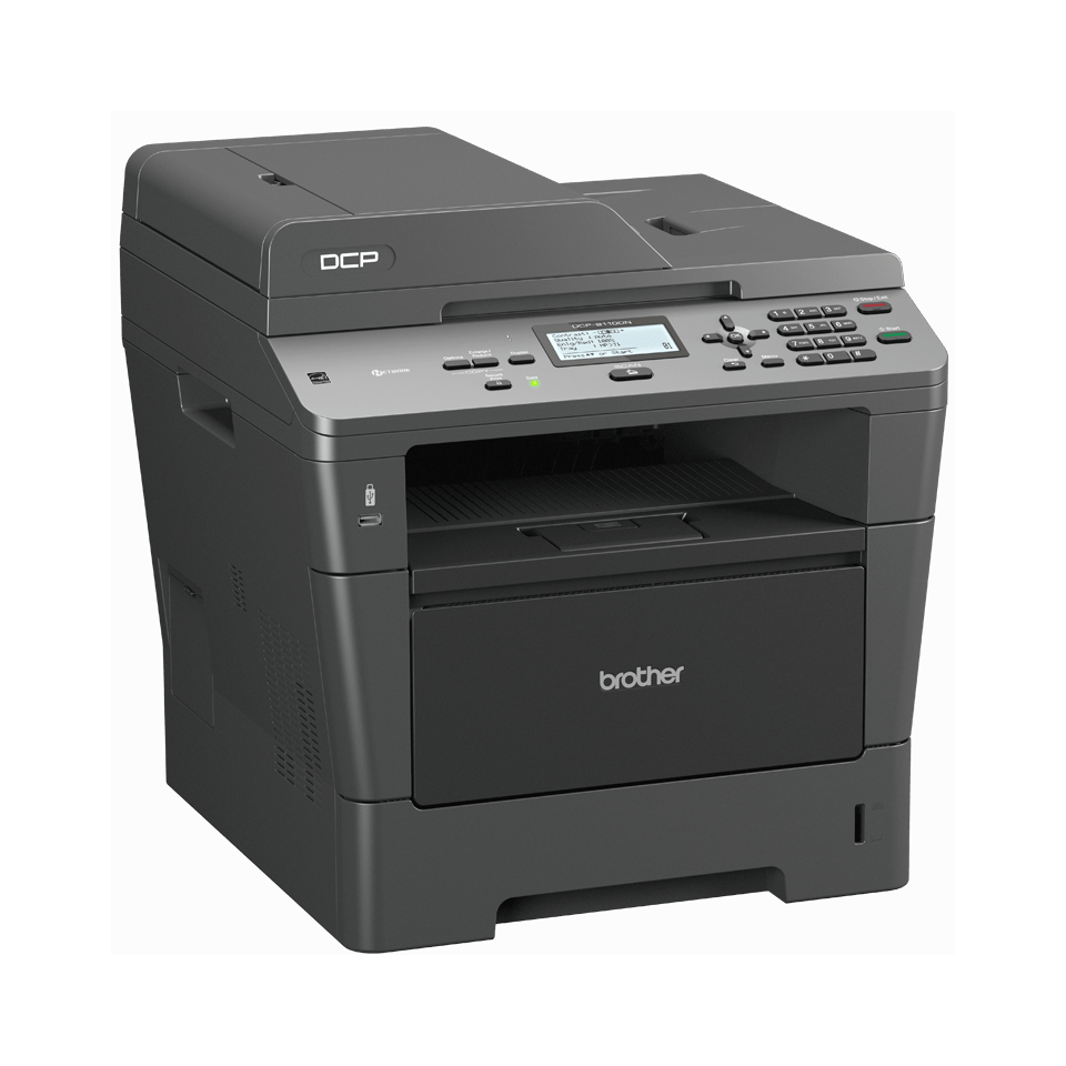 DCP-8110DN all-in-one mono laser printer 3