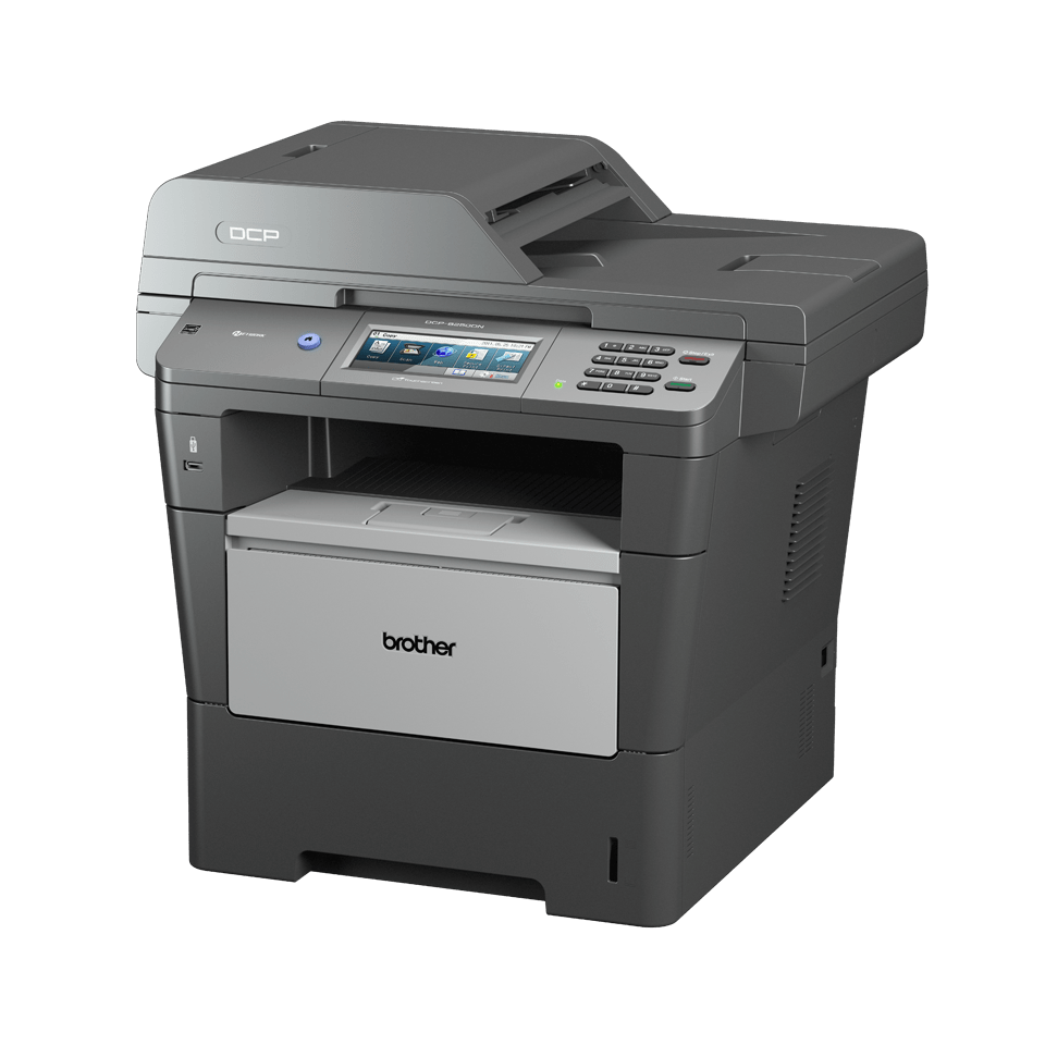 DCP-8250DN all-in-one mono laser printer 2