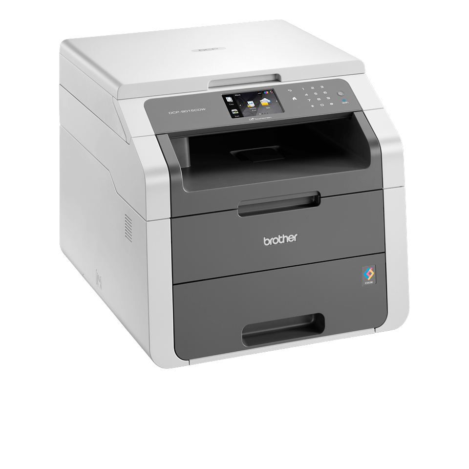 DCP-9015CDW all-in-one kleurenled printer 3