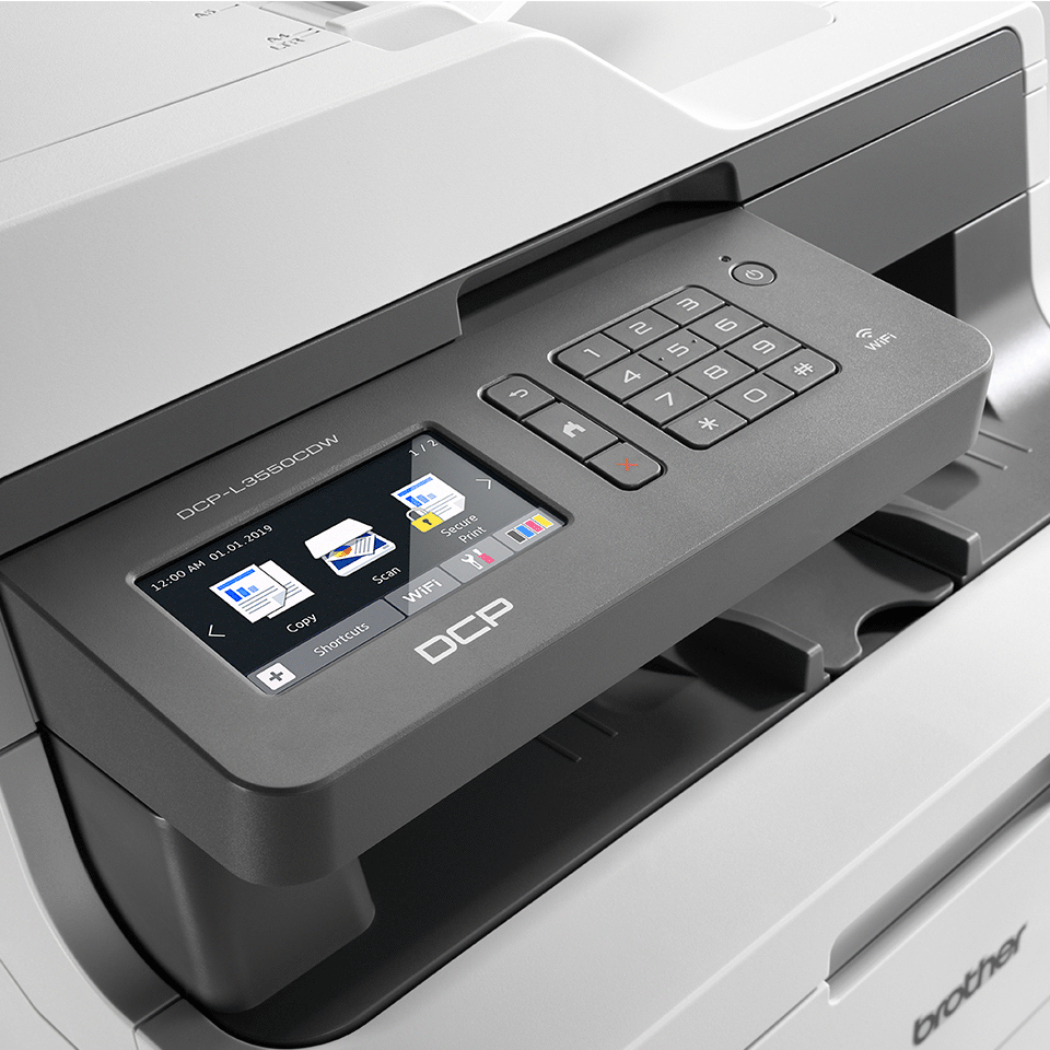 DCP-L3550CDW 3-in-1 kleuren LED printer, Wifi, Ethernet 4