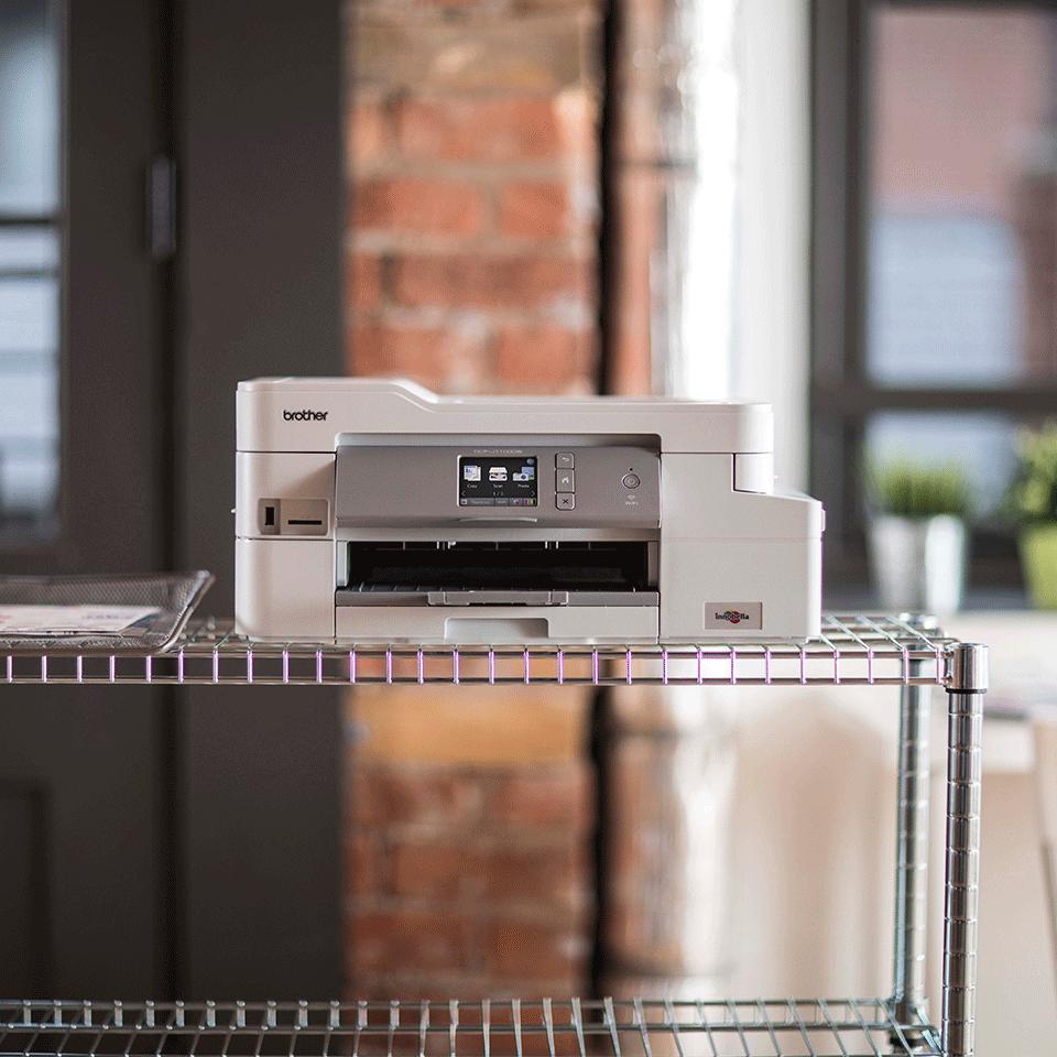 DCP-J1100DW All in Box kleuren inkjet all-in-one printer + 4 inktpatronen 4