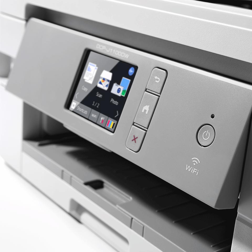 DCP-J1100DW All in Box imprimante jet d'encre couleur 3-en-1, Wifi 6